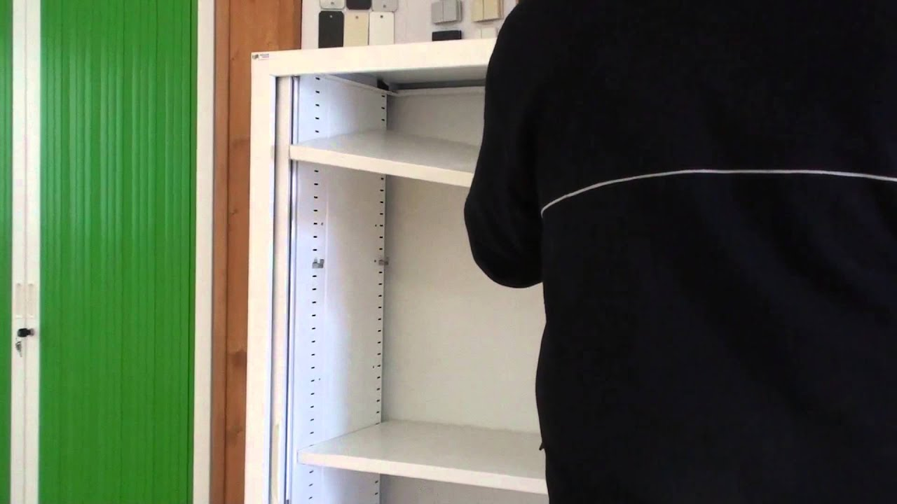 Armoire de bureau m tallique youtube - Armoire bureau integre ...