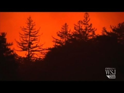 Wildfire in California's Big Sur Forces Evacuations
