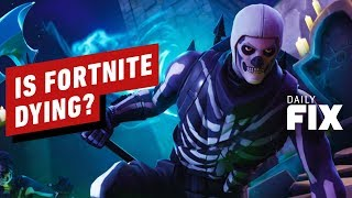 Epic Games and Analyst Disagree On Fortnite's Declining Revenue - IGN Daily Fix