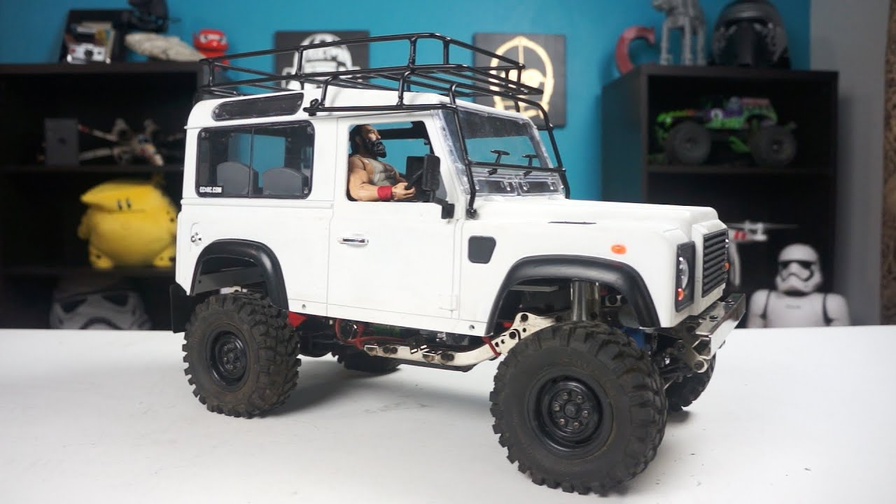 eBay Luge / Roof Rack For RC4WD D90 Land Rover Defender - YouTube