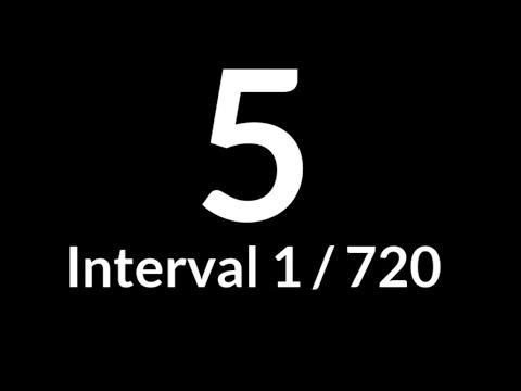 Interval Timer 5 Seconds