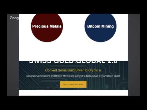 Setting Up Your FREE Swiss Gold Global Account And Benefits