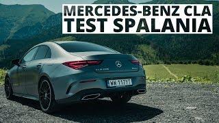 Mercedes-Benz CLA 220 2.0 Benzyna 190 KM (AT) – pomiar zużycia paliwa