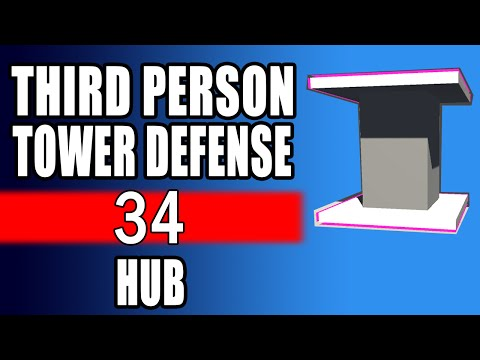 How To Tower Defense • 34 • Introducing the HUB [Tutorial][C#]