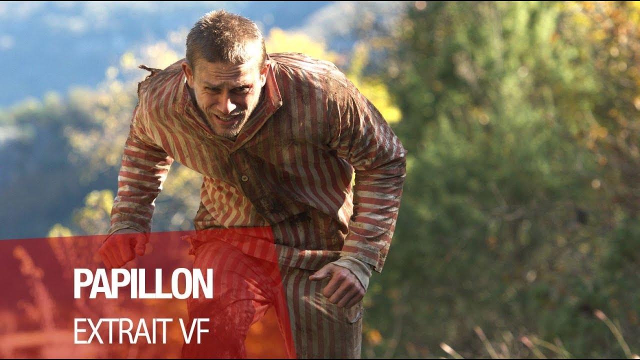 "PAPILLON (Charlie Hunnam, Rami Malek) - Extrait ""Tentative d'évasion"" VF"