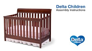 Delta Children Haven 4-in-1 Crib Assembly Video
