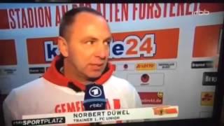 rbb Bericht - Benny Köhler & 1. FC Union Berlin - EISERN BLEIBEN BENNY!!!