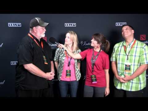 TI3  meeting the voice actors