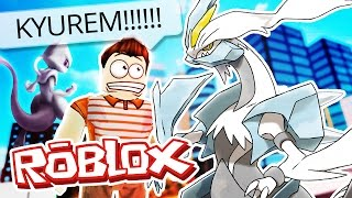 Roblox Adventures / Pokemon GO / FINDING KYUREM & MEWTWO!