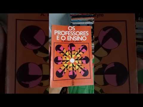 OS PROFESSORES E O ENSINO - (Livraria Racional)