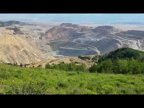 Butterfield Canyon Copper Mine Overlook