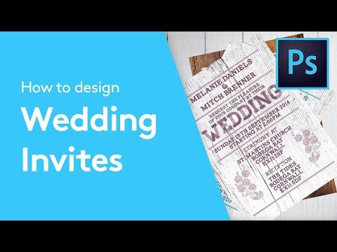 How To Design A Wedding Invitation In Adobe Photoshop   Solopress Tutorials