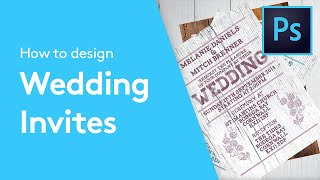 How To Design A Wedding Invitation In Adobe Photoshop | Solopress Tutorials