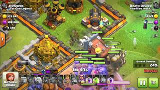 how to 3* a th 12 with low level troops and heroes ... amazing strategy .... ground attack..