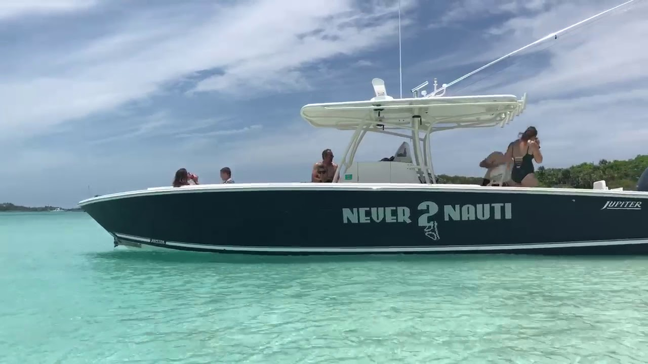 Spend the Day on a Boat in Staniel Cay Bahamas