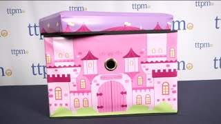Kidoozie Princess Castle Toy Box From International Playthings