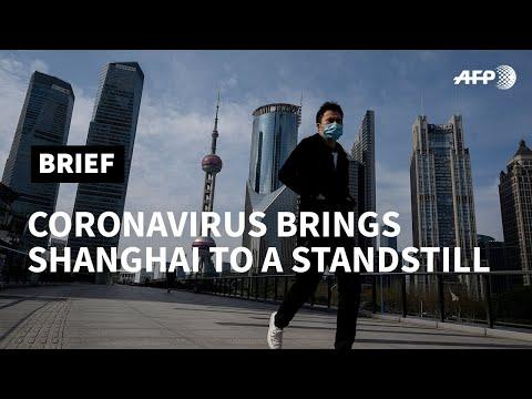 Coronavirus Puts Shanghai Into A Coma | AFP