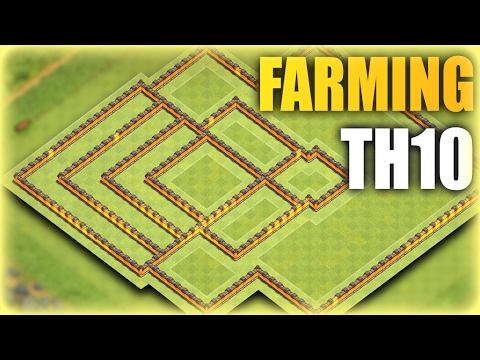 TH10 New Farming Base 2017 | Town Hall 10 Dark Saving Base | Clash Of Clans