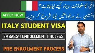 How to Apply for ITALY Student Visa