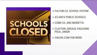 School closings for Tuesday, Jan. 29, 2019