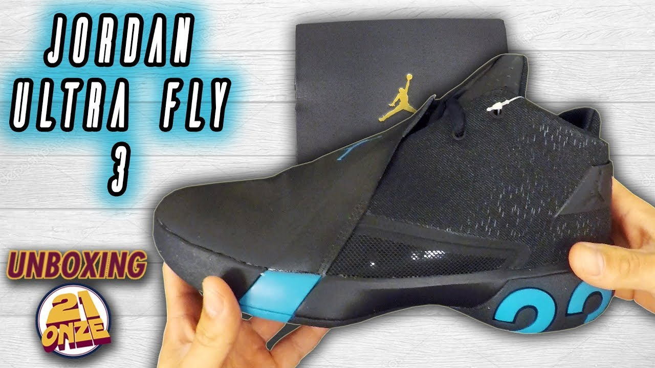b96cd9c4c795 Unboxing JORDAN ULTRA FLY 3 - YouTube