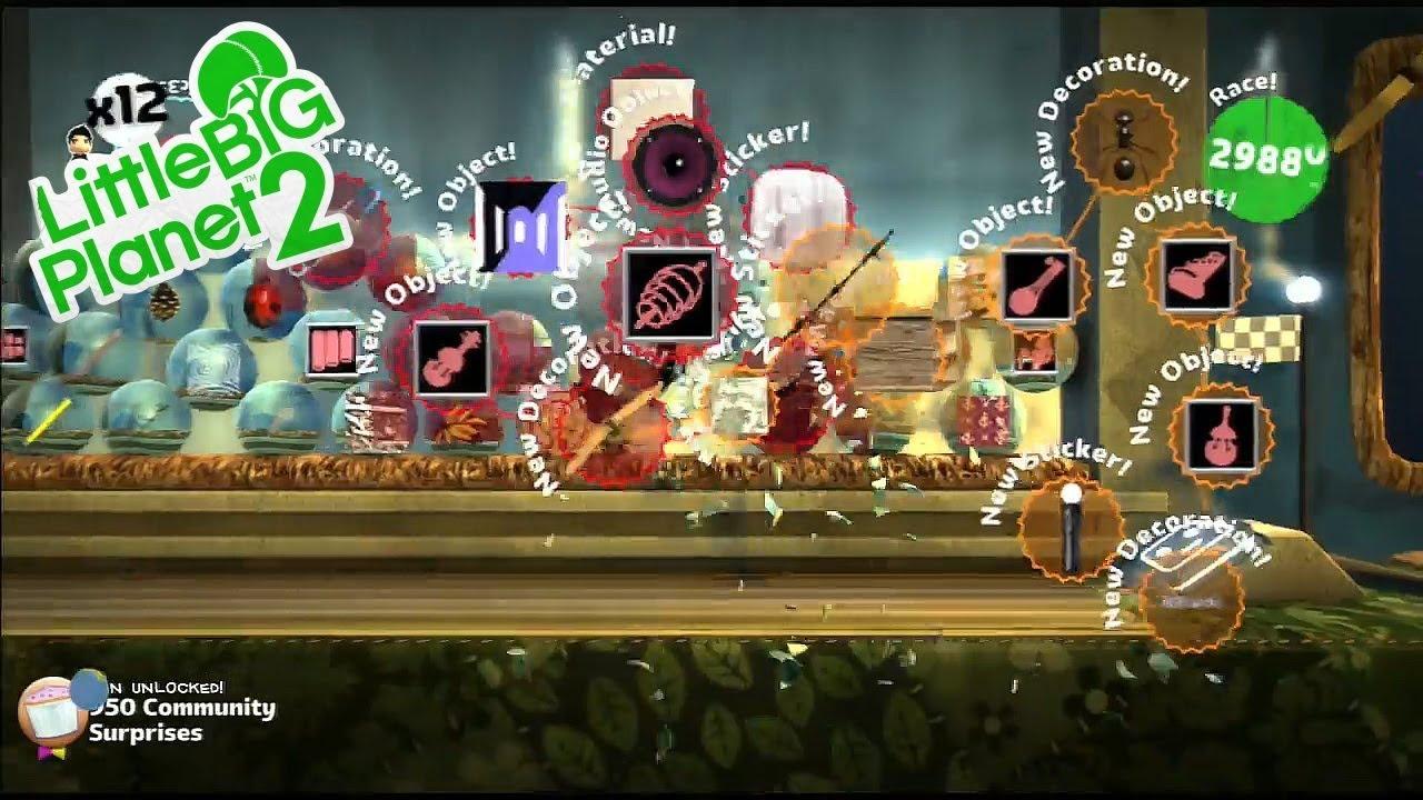 All prizes in lbp2 glitches
