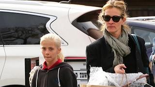 Julia Roberts And Daughter, Hazel, Go Shopping