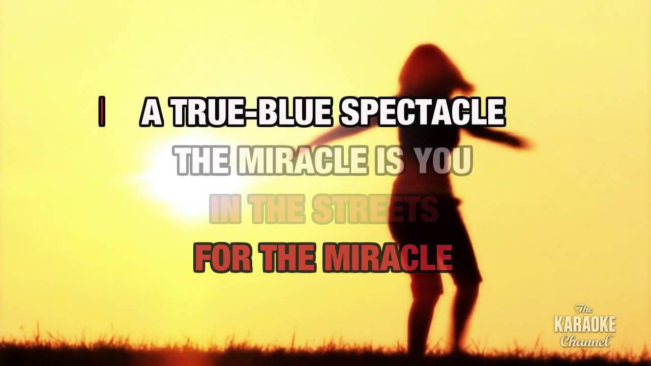 True blue miracle lyrics