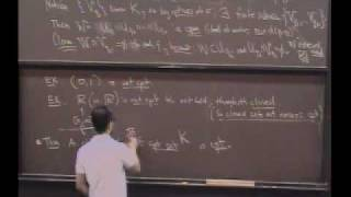 Real Analysis, Lecture 12: Relationship of Compact Sets to Closed Sets
