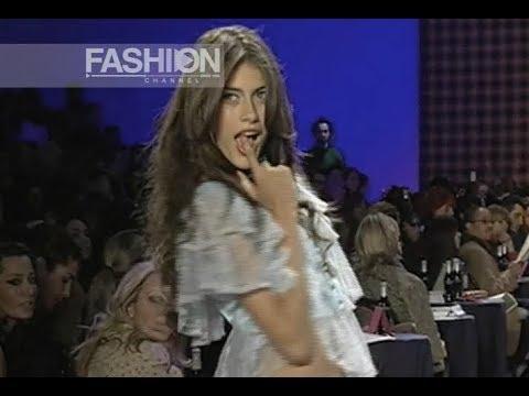BETSEY JOHNSON Fall Winter 2005 New York - Fashion Channel