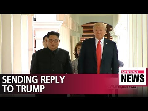 N. Koreas top nuclear negotiator en route to Washington with Kim Jong-uns letter to Pres. Trump