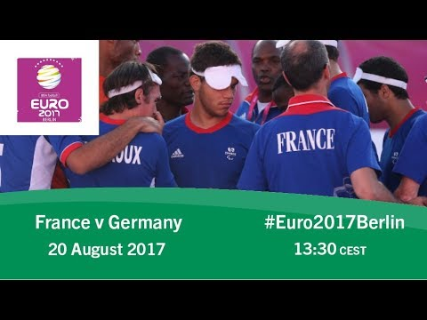 France vs Germany | IBSA Blind Football European Championships