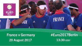 France vs germany | ibsa blind football european championships
