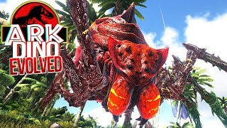 Download Video ARK Dino Evolved - Aranha Gigante Monstruosa, Caçada Épica! | Dinossauros (#8) (PT-BR) MP3 3GP MP4