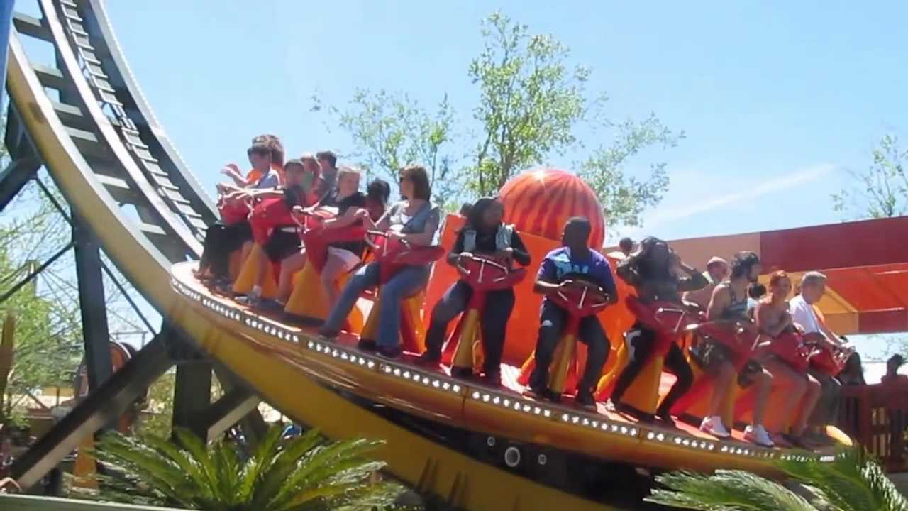 Tail Spin At Wild Adventures Youtube