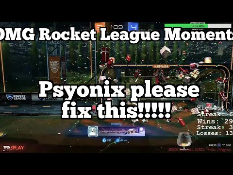 OMG Rocket League Moments: Psyonix please fix this!!!!! thumbnail