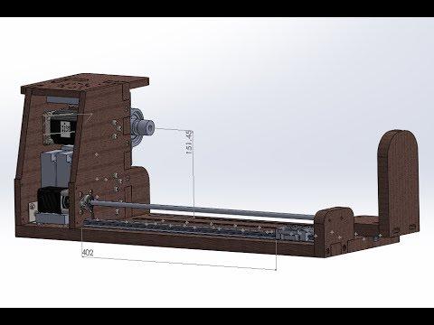 видео: Намоточный станок ЧПУ |1| Концепция, макет