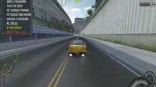 Need For Speed Pro Street - GTR Gets Totaled