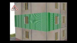 Утепление наружных стен квартир, домов.  г. Запорожье Тел. (063)-309-42-75 ; (099)-088-72-49(Компания ЧП