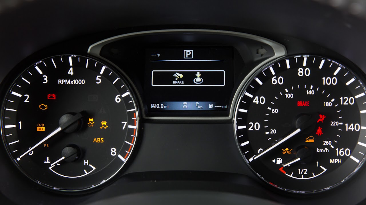 2017 Nissan Sentra Dashboard Warning Lights | Adiklight.co