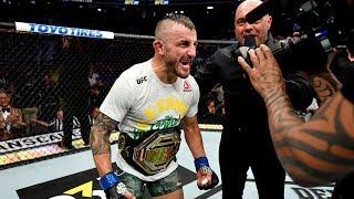 UFC 245: Entrevista no octógono com Volkanovski e Holloway