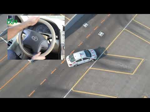 Parking Yard Test Angle Parking EN