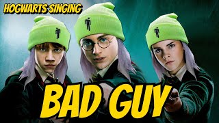 Gambar cover Billie Eilish's BAD GUY is Hot in Hogwarts right now