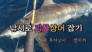 [EP9 바다사냥꾼아빠] 부시리 지깅 상어낚시 | 참돔…