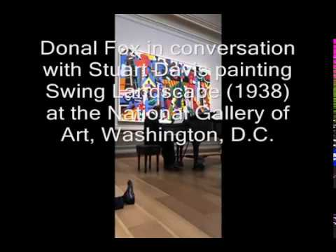 Donal Fox in Conversation with Stuart Davis, National Gallery of Art