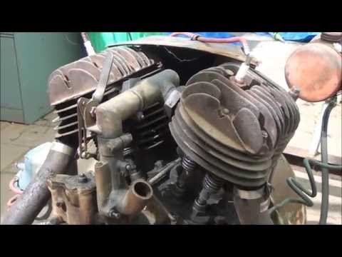 Howard V twin engine 2014