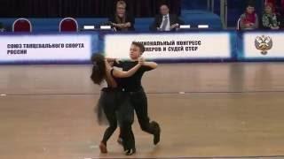 Роман Гончаров | Музыка в танце квикстеп | III Конгресс СТСР