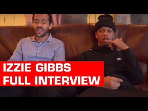 Izzie Gibbs talks Ying Yang Ep, Stormzy Co sign and more with @YourHostRob (ERPM Exclusive)
