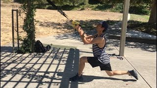 TRX Outdoor Full Body Workout