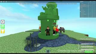 Goes up for steep cube in ROBLOX